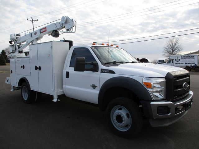 2011 Ford  F-550 4X4 IMT CRANE TRUCK 6.7 DIESEL Lake In The Hills, IL