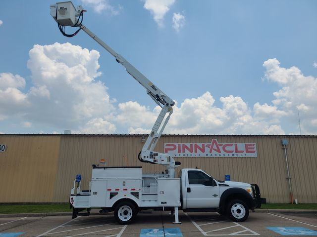 2011 Ford F-550 ALTEC AT40M MATERIAL HANDLING 45' XL F550 BUCKET TRUCK WITH WINCH AND MAT HANDLER in Irving, TX 75039