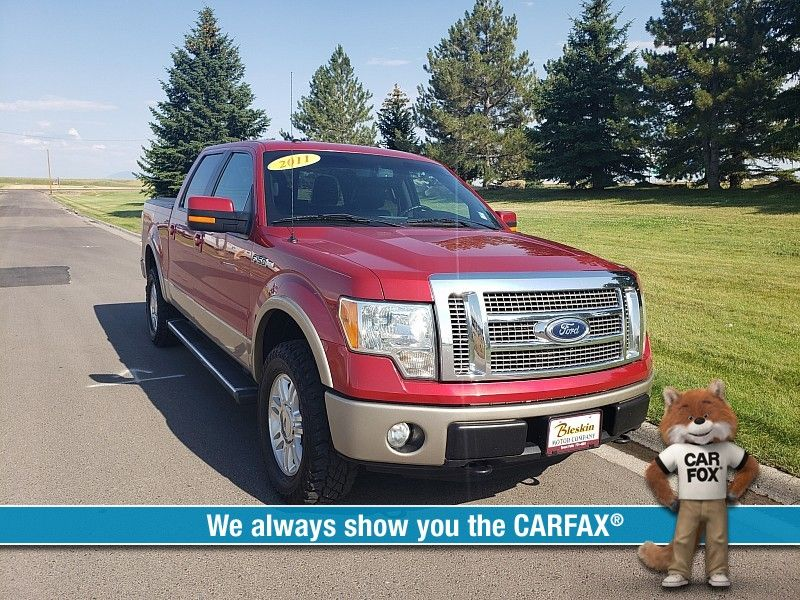 2011 Ford F150 4WD Supercrew Lariat 5 12  city MT  Bleskin Motor Company   in Great Falls, MT