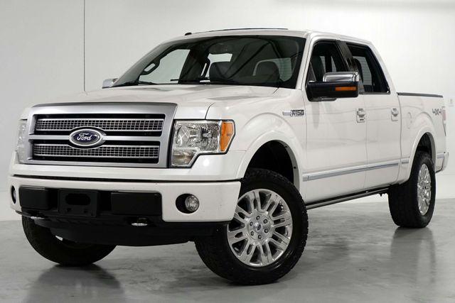 2011 Ford F150 Platinum Supercrew 4 Wheel Drive Pearl White in Dallas, Texas 75220