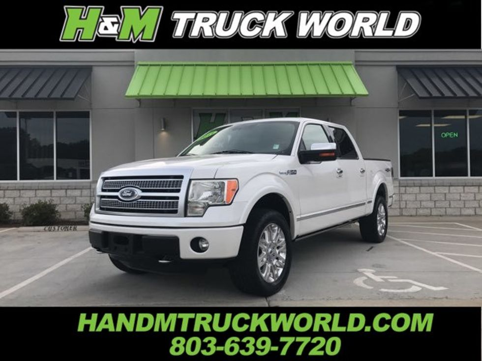 2011 ford f150 texas edition value