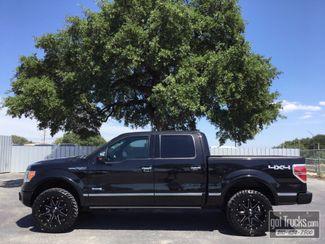 2011 Ford F150 Crew Cab Platinum 3.5L V6 EcoBoost 4X4 in San Antonio Texas, 78217