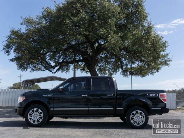 2011 Ford F150 Crew Cab Platinum 5.0L V8 4X4