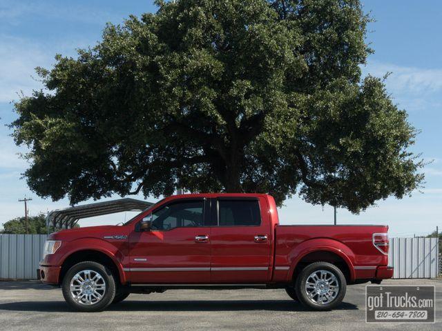 2011 Ford F150 Crew Cab Platinum EcoBoost