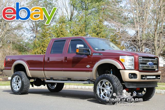 2011 Ford F250 Crew King Ranch Fx4 6.7L DIESEL LOW MILES LIFTED 4X4