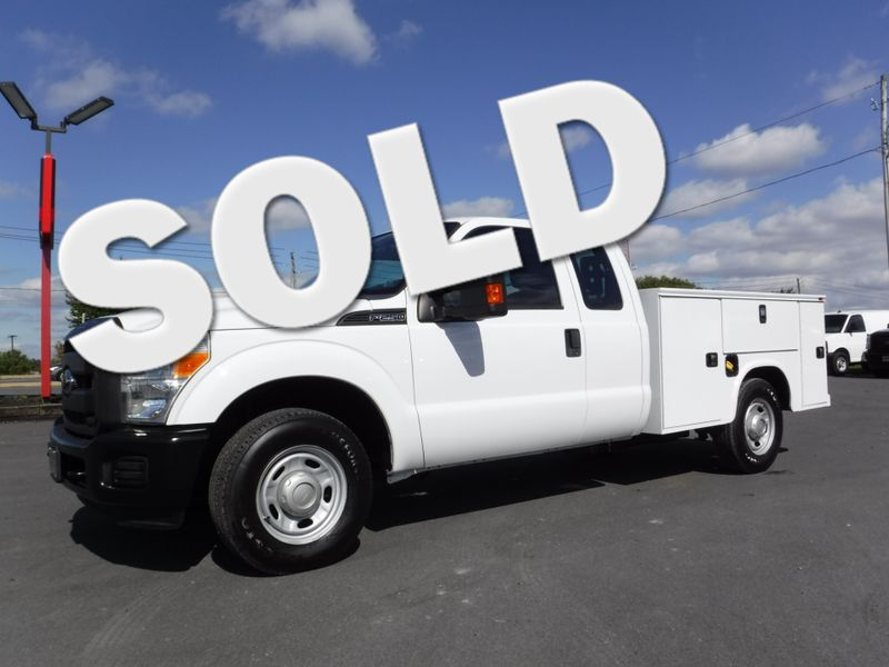 2011 Ford F250 Extended Cab 2wd with New 8' Knapheide Utility Bed in Ephrata PA