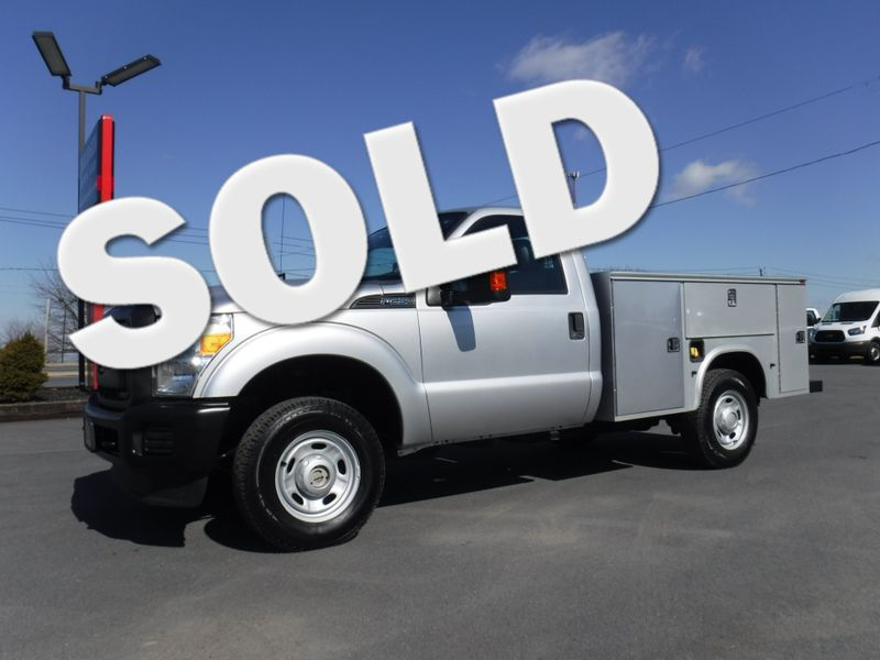 2011 Ford F250 Regular Cab Utility 4x4 in Ephrata PA