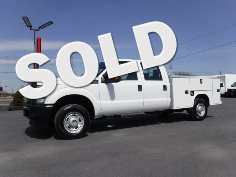 2011 Ford F250 Crew Cab 4x4 with New 8' Knapheide Utility Bed in Ephrata PA