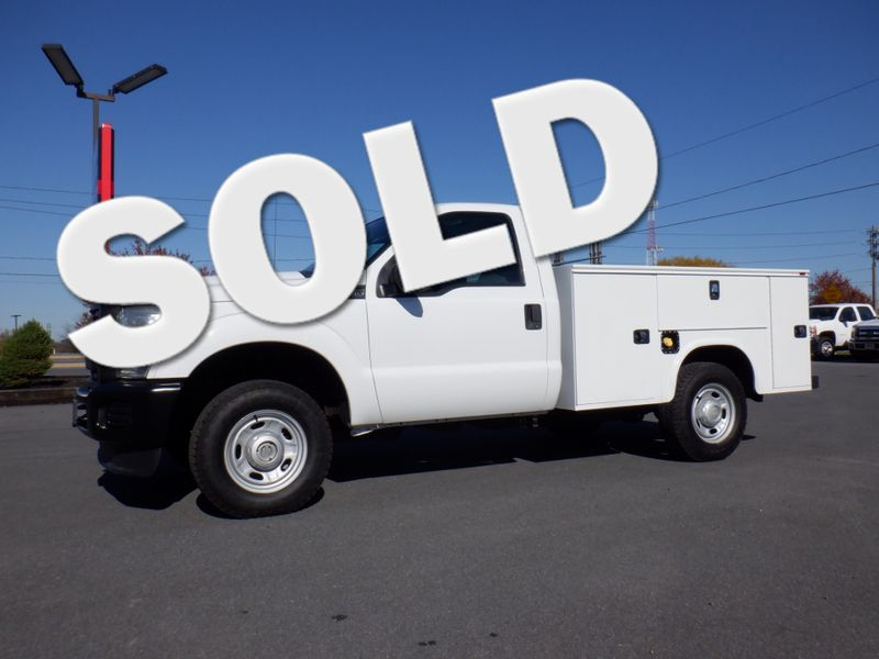 2011 Ford F250 Regular Cab 4x4 with New 8' Knapheide Utility Bed in Ephrata PA