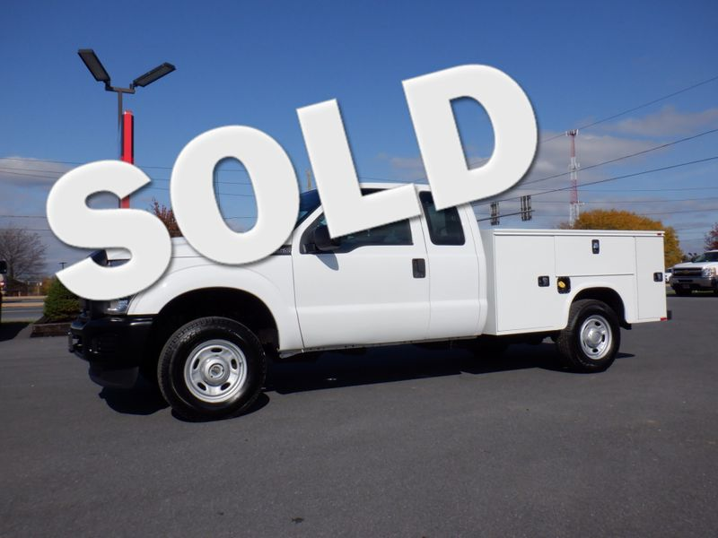2011 Ford F250 Extended Cab 4x4 with New 8' Knapheide Utility Bed in Ephrata PA
