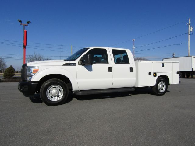 2011 Ford F250 Crew Cab 2wd with New 8' Knapheide Utility Bed in Lancaster, PA, PA 17522