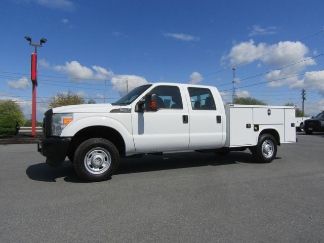 2011 Ford F250 Crew Cab 4x4 with New 8' Knapheide Utility Bed