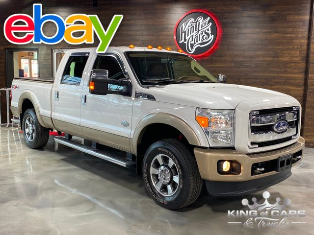 2011 Ford F250 King Ranch CREW 4X4 6.2L V8 1-OWNER ONLY 48K MILES WOW