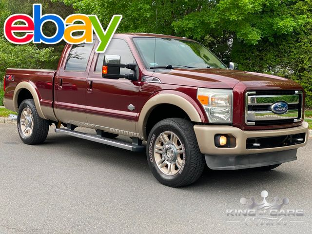 2011 Ford F250 King Ranch CREW CAB SHORT BED 4X4 6.7L DIESEL LOW MILE