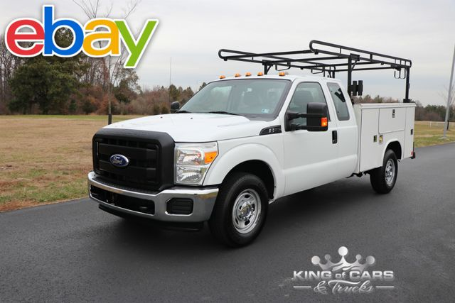 2011 Ford F250 X-Cab Utility SERVICE BODY 6.2L V8 1-OWNER