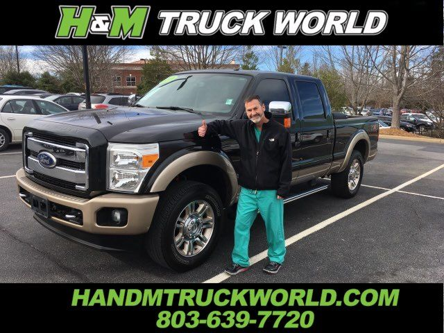 2011 Ford F250SD King Ranch *6.7L POWERSTOKE*NAV*ROOF*LOADED in Rock Hill, SC 29730