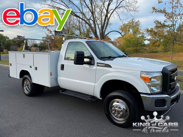 2011 Ford F350 4x4 Reg Cab READING UTILITY 1-OWNER LOW MILES 6.2L V8
