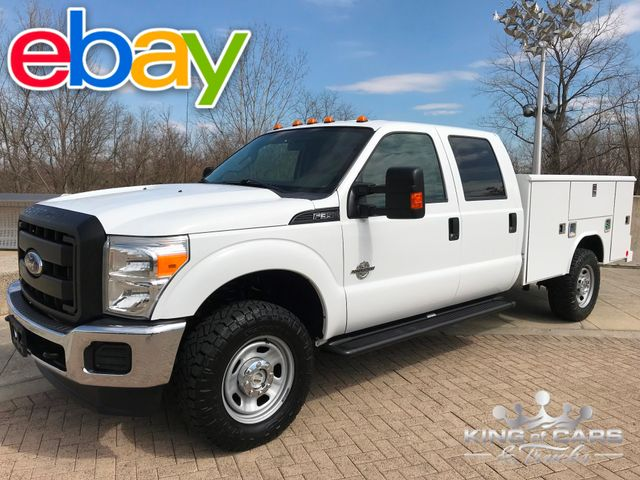 2011 Ford F350 6.7l Diesel 4x4 UTILITY CREW 149K MILES 1-OWNER BUY IT NOW