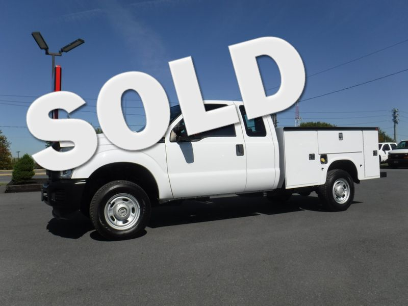 2011 Ford F350 Extended Cab Utility 4x4 in Ephrata PA