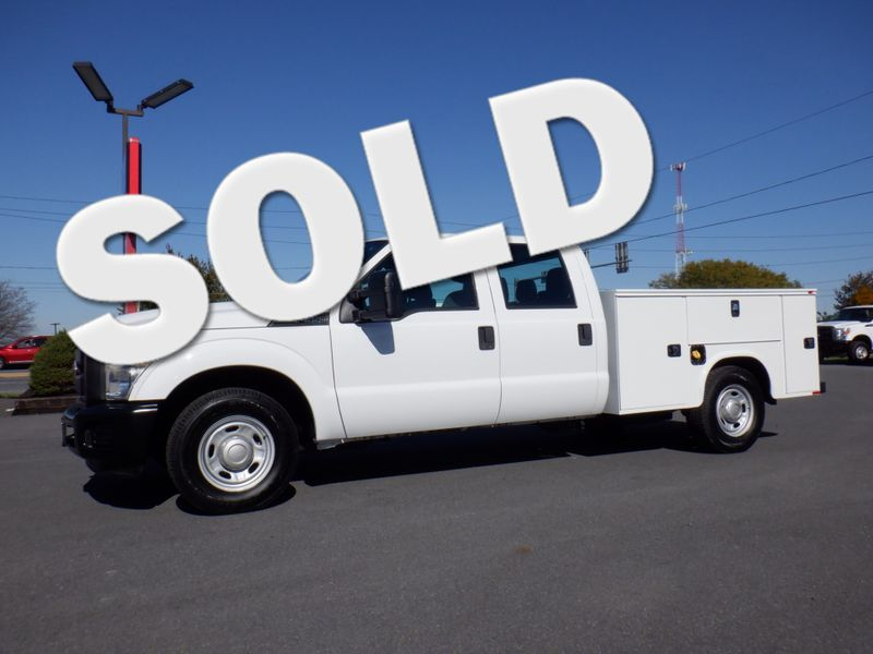 2011 Ford F350 Crew Cab 2wd with New 8' Knapheide Utility Bed in Ephrata PA
