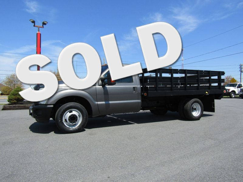 2011 Ford F350 12' Stake Body with Lift Gate 2wd in Ephrata PA