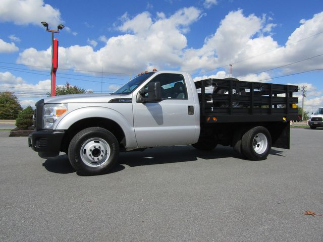 2011 Ford F350 9' Flatbed Stake Truck 2wd