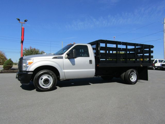 2011 Ford F350 12' Flatbed Stake Truck 2wd