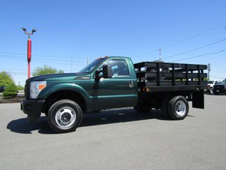 2011 Ford F350 9' Flatbed Stake Truck 4x4 in Lancaster, PA, PA 17522