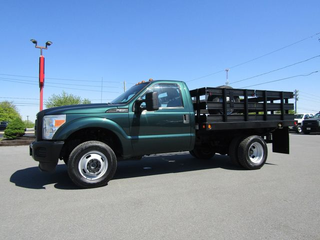 2011 Ford F350 9' Flatbed Stake Truck 4x4