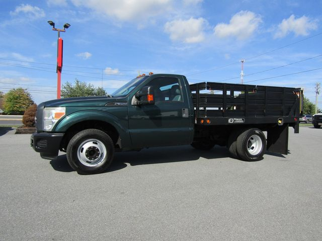 2011 Ford F350 9' Flatbed Stake Bed 2wd with Lift Gate in Ephrata, PA 17522