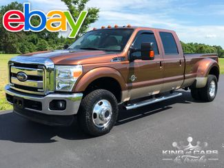 2011 Ford F350 Lariat 6.7l DIESEL 4X4 CREW DRW ONLY 57K MILES MINT in Woodbury, New Jersey 08096