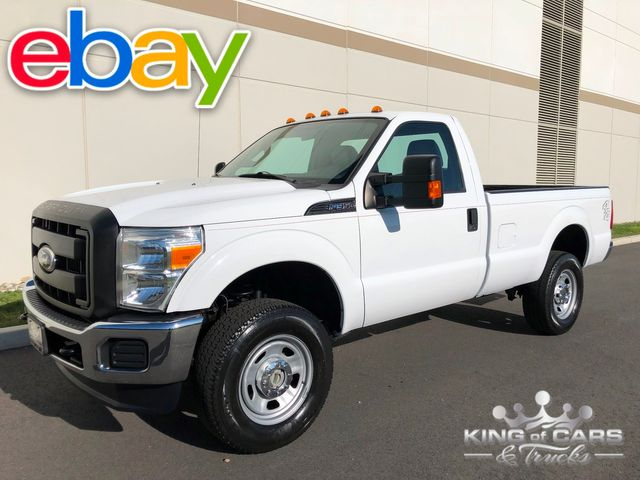 2011 Ford F350 Reg Cab 6.2L V8 4X4 1-OWNER ONLY 79K MILES WORK TRUCK