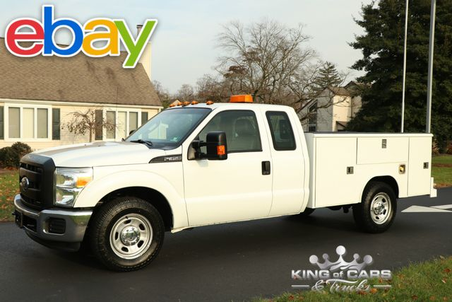 2011 Ford F350 X-Cab Utility SERVICE BODY 6.2L V8 LOW MILES 1-OWNER