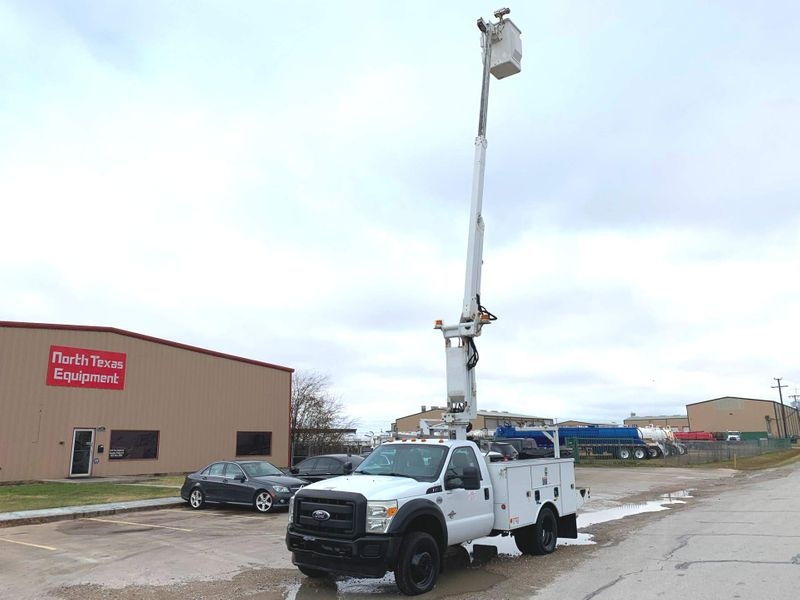 2011 Ford F450 BUCKET TRUCK    city TX  North Texas Equipment  in Fort Worth, TX