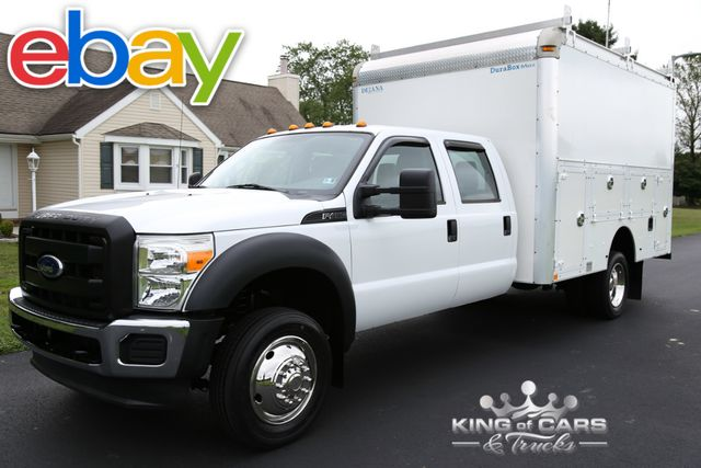 2011 Ford F450 Crew Drw BOX UTILITY SERVICE BODY 32K MILES 1-OWNER in Woodbury New Jersey, 08096