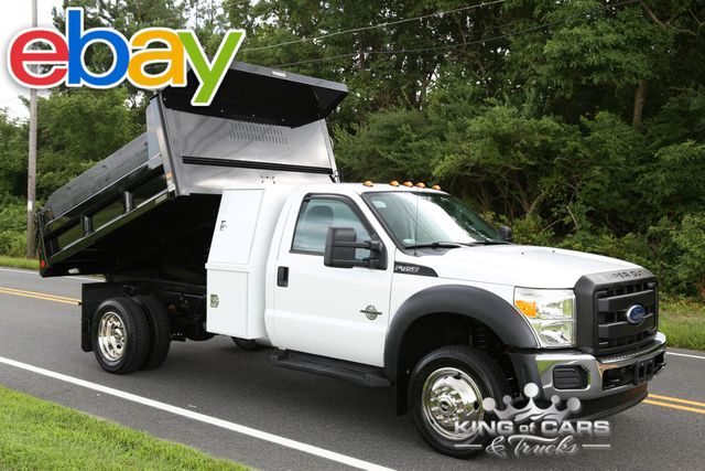 2011 Ford F450 I-Pack Mason DUMP 6.7L DIESEL 3K MILES 1-OWNER 4X4 WOW mint in Woodbury New Jersey, 08096