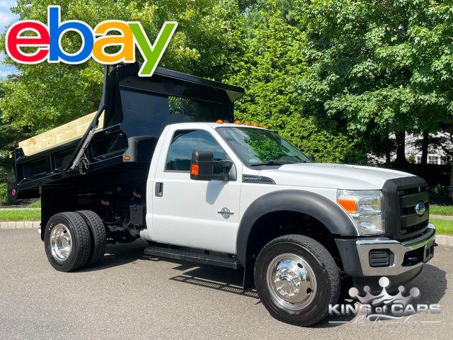 2011 Ford F550 4x4 6.7l Diesel MASON DUMP BODY POWER TARP WOW in Woodbury, New Jersey 08093