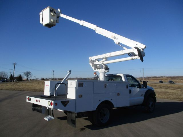 2011 Ford F550 4X4 BUCKET BOOM TRUCK Lake In The Hills, IL 42