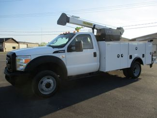 2011 Ford  F550 4X4 SERVICE UTILITY CRANE TRUCK Lake In The Hills, IL