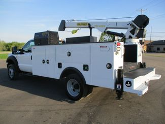 2011 Ford  F550 4X4 SERVICE UTILITY CRANE TRUCK Lake In The Hills, IL 2