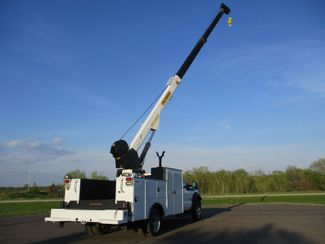 2011 Ford  F550 4X4 SERVICE UTILITY CRANE TRUCK Lake In The Hills, IL 35