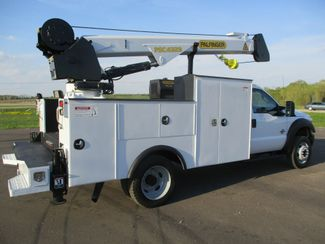 2011 Ford  F550 4X4 SERVICE UTILITY CRANE TRUCK Lake In The Hills, IL 4