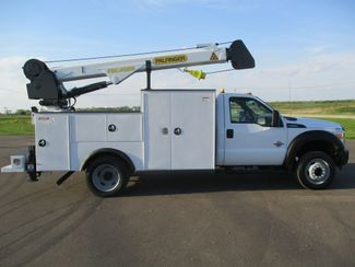2011 Ford  F550 4X4 SERVICE UTILITY CRANE TRUCK Lake In The Hills, IL 5