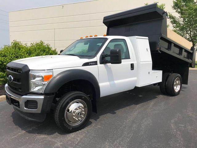 2011 Ford F550 6.8l V10 MASON DUMP L-PACK BOX 1-OWNER ONLY 75K MILES