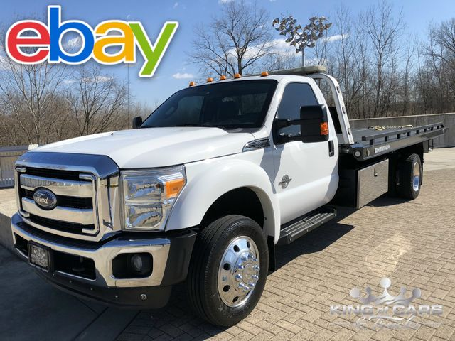 2011 Ford F550 Chevron Rollback 6.7L DIESEL 63K ACTUAL MILES 1-OWNER STEEL 2-CAR