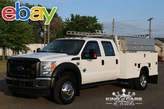 2011 Ford F550 Crew Knapheide UTILITY BODY 6.7L DIESEL 75K MILES 4X4 in Woodbury, New Jersey 08096