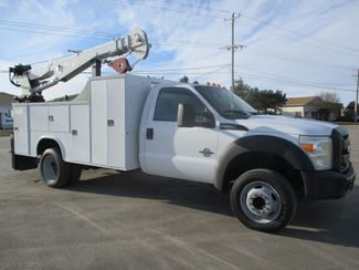 2011 Ford F550 DIESEL 7500 LBS CRANE TRUCK Lake In The Hills, IL