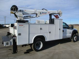 2011 Ford F550 DIESEL 7500 LBS CRANE TRUCK Lake In The Hills, IL 2