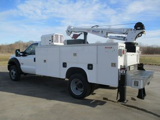 2011 Ford F550 DIESEL 7500 LBS CRANE TRUCK Lake In The Hills, IL 4
