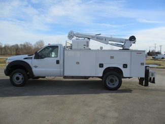 2011 Ford F550 DIESEL 7500 LBS CRANE TRUCK Lake In The Hills, IL 5